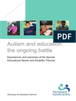 Autism and Education - The Ongoing Battle