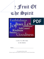 Fruit of the Spirit Study Guide