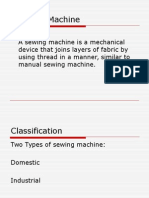 Parts of Sewing Machine