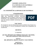 Laboratorio ley Del Timbre 2010