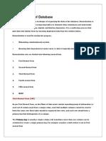 Normalization of Database.docx