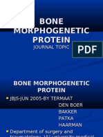 Bone Morphogenetic Protein