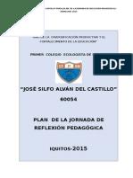 Plan de Reflexión de Jornada Pedagógica