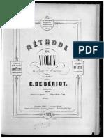 Beriot Methode Violon Partie 2