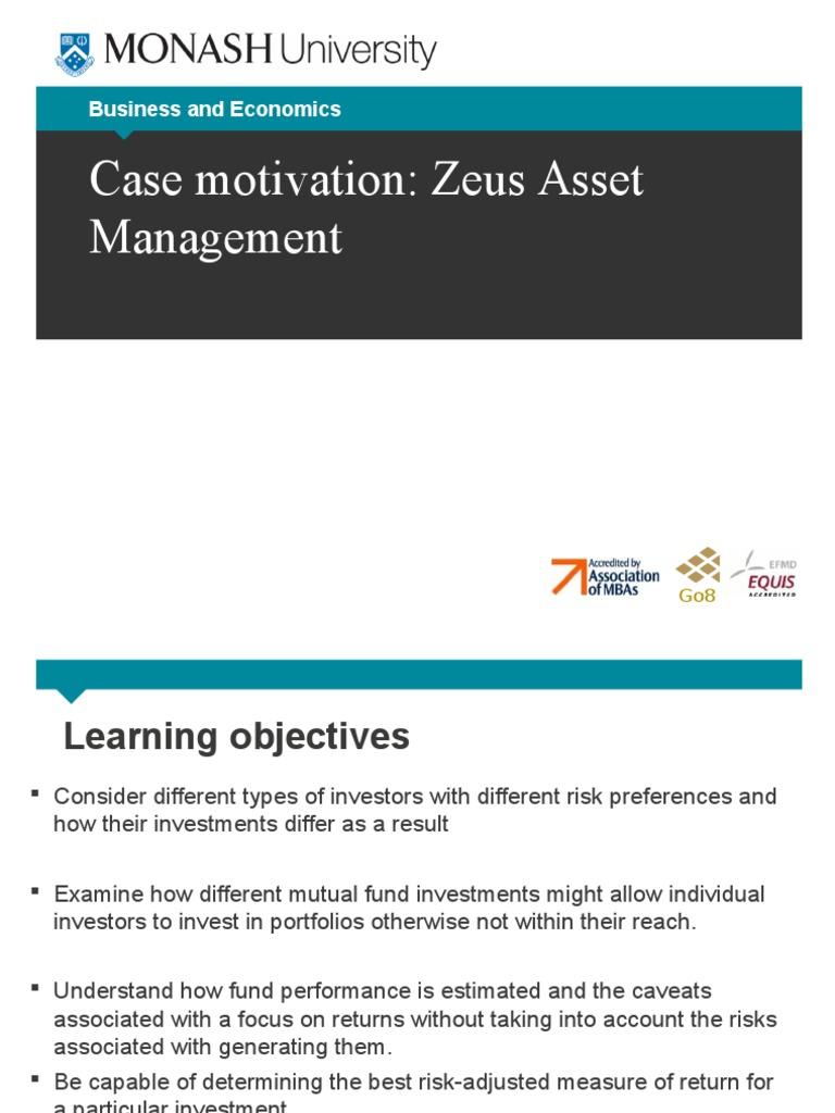 Case motivation for zeus