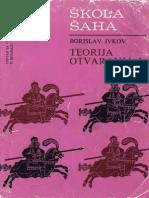 Borislav Ivkov - Skola Saha _ Teorija Otvaranja I