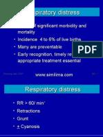Respiratory Distress Children