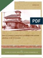 The Allandale Community Interpretive Centre