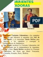 Corrientes Libertadoras Del Norte y Sur