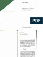 Chomsky- Linearita e Dipendenza Da Struttura