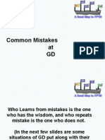 GD Mistakes.ppt