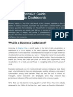 A Comprehensive Guide on Business Dashboards