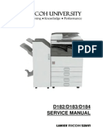 free service manual on ricoh mpc copiers