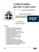 O Estado Do Vaticano e seus Segredos