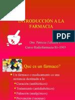 Introducción a La Farmacia