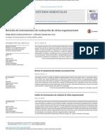 Revisión de Instrumentos de Evaluación de Clima Organizacional