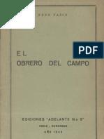 El Obrero Del Campo