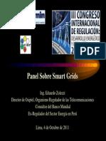 III Congreso Regulacion - Panel Smart Grids EZ