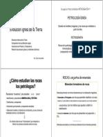Petrología / Evolucion de rocas ígneas