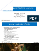Uvod u Microsoft Azure Machine Learning
