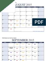 related arts color days calendar 15-16