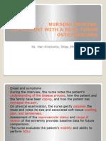 Nursing Process Osteosarcoma