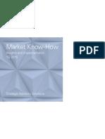 GS Market Know How 1Q2015