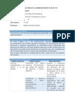 FCC - Planificación Unidad 5 - 4to Grado