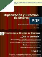 Organizacion y Direccion I
