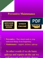 Preventive Maintenance PO 9