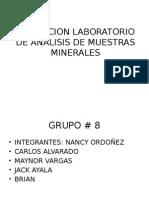 EXPOSICION LABORATORIO DE ANALISIS DE MUESTRAS MINERALES.pptx
