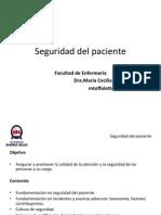 Clase Seguridad Del Paciente 2014