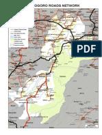 Morogoro Road Network Map