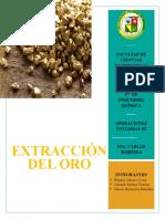 Extracción Del Oro