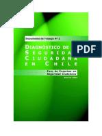 Diagnóstico de La Seguridad Ciudadana en Chile