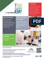 DCPS-Parent Academy Website Flyer Spanish Version Rev