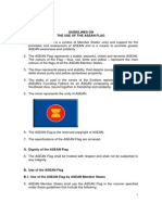 Guidelines on the Use of the ASEAN Flag