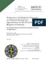 2007 Climate Adaptive Capacity