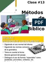 clase13 Metodos de Est Bibl.ppt