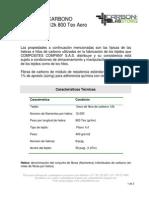 Ft Fibra de Carbono Carbon Lab Store 12k 800tex Grado Aero