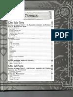 La Leggenda dei Cinque Anelli - Indice e Glossario
