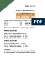 Laboratorio Materia Prima(Lunes 25) 2014-II