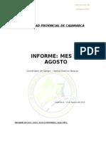 Informe Agosto 2015 - Santos