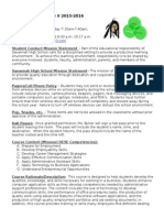 Butler Business Tech II Syllabus