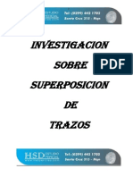 Investigacion Sobre Superposicion de Trazos y Entrecruzamientos