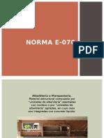 Norma E-070