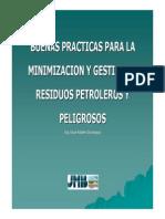 8- Buenas Practicas Para La Gestión de Residuos Petroleros