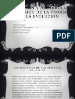 Definicion y Desarrollo Historico de La Teoria De la evolucion