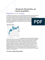 El Descenso Del Precio Del Petróleo