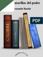 Rueda, Fernando - Las Alcantarillas Del Poder